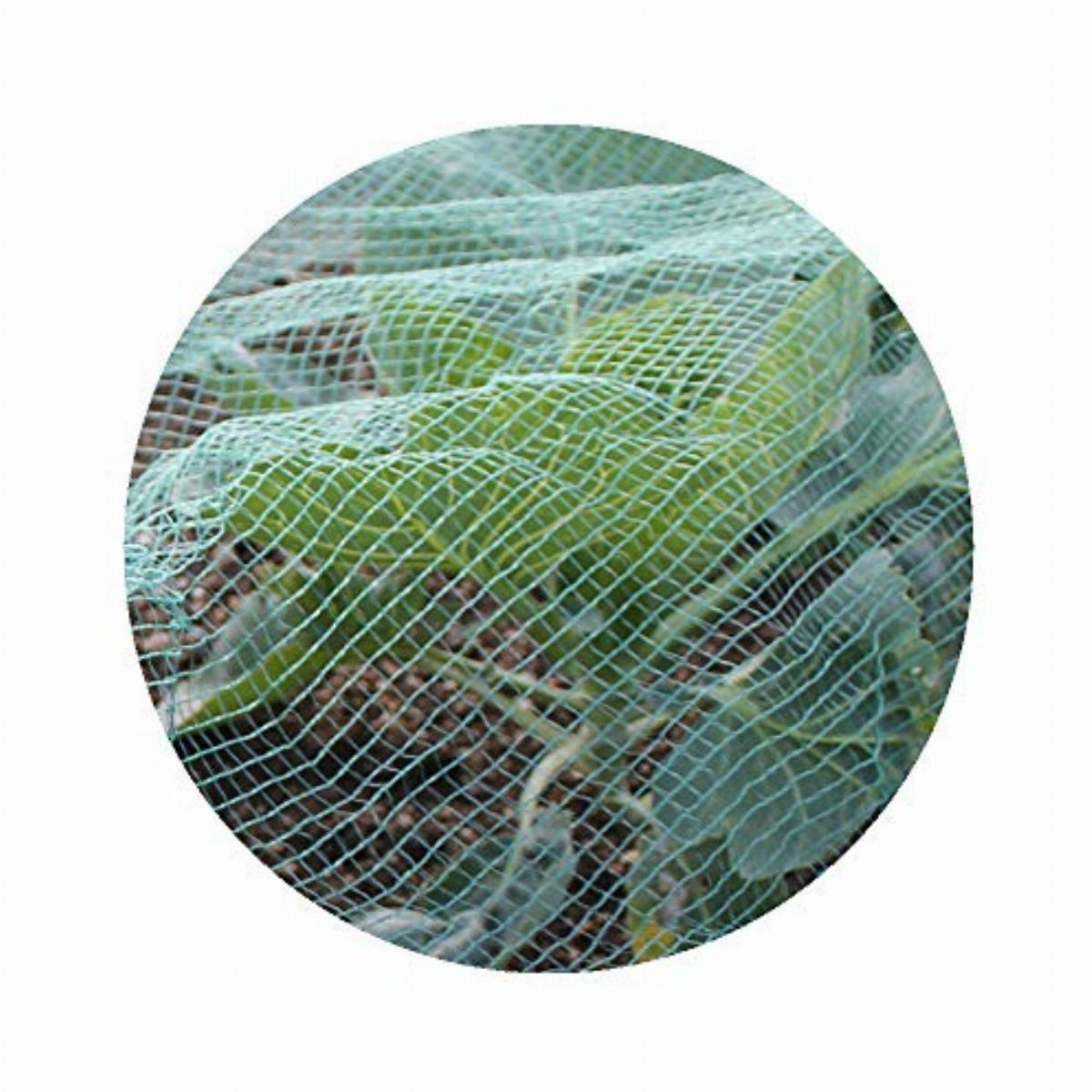 Gardening Naturally Soft Green Anti Butterfly Netting For Garden Fruit Crop Protection 4m X 10m